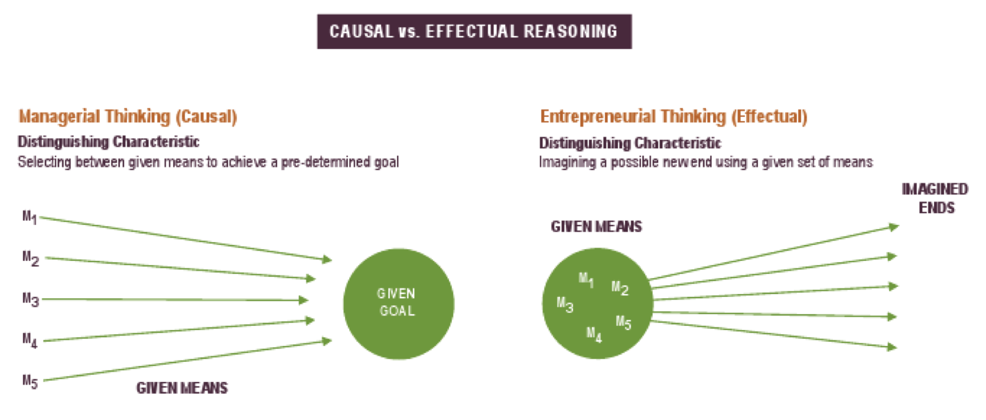 Effectual vs Casual thinking