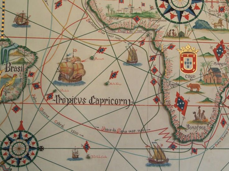 Portugal discovery map
